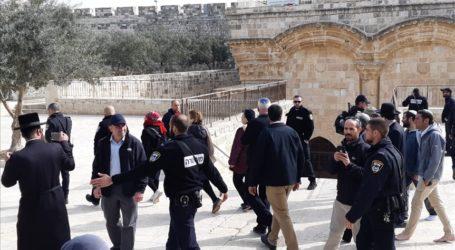 Menteri Pertanian Israel Paksa Masuk Kompleks Al-Aqsa