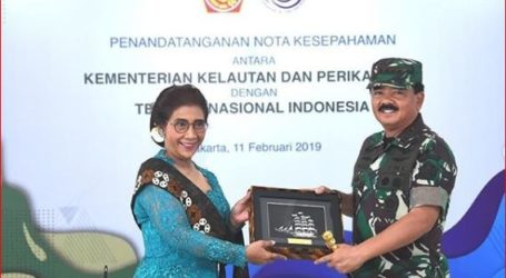 KKP dan TNI Kerja Sama Amankan Sektor Laut