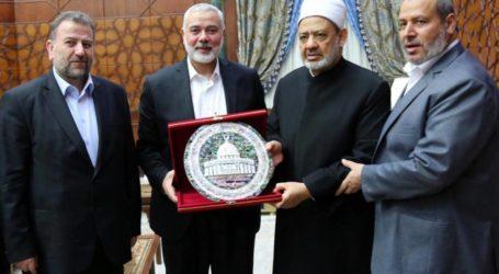 Delegasi Hamas, Grand Syaikh Al-Azhar Mesir Bahas Kondisi Al-Aqsa