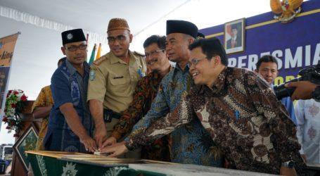 Mendikbud Resmikan Laboratorium Seni Budaya SMK Muhammadiyah 5 Kepanjen