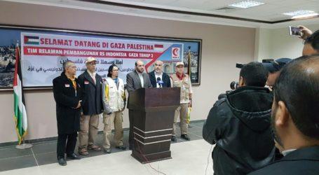 Tim MER-C untuk Pembangunan Tahap 2 RS Indonesia Tiba di Jalur Gaza