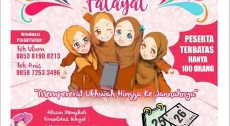 Siapkan Generasi Berkualitas, Fatayat Jama'ah Muslimin (Hizbullah) Adakan Konsolidasi Fatayat se-Indonesia