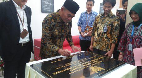 Mendikbud Resmikan Ruang Pusat Assesmen Pegawai Kemendikbud