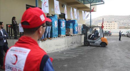 Turki Kirim Bantuan Makanan dan Tepung untuk Pengungsi Yaman