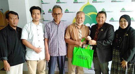 Dewan Pemasaran dan Perdagangan Islam Malaysia Kunjungi Kantor Berita MINA