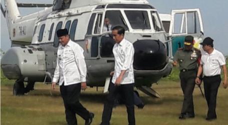 Presiden Jokowi Tinjau Pendidikan Penanggulangan Bencana ke Pandeglang