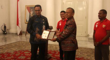 DKI Jakarta Dukung dan Fasilitasi Atlet Futsal Tuna Rungu Indonesia