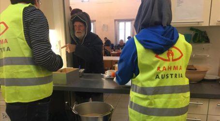 Asosiasi Muslim di Austria Sediakan Makanan untuk Tunawisma