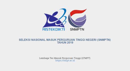 Pendaftaran dan Finalisasi SNMPTN Diperpanjang Hingga 16 Februari