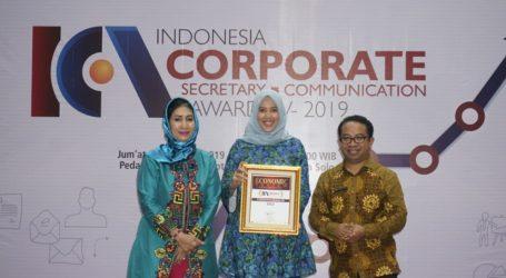 Bank Muamalat Raih Penghargaan Corporate Communication Award 2019
