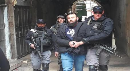 Aksi Protes Penutupan Gerbang Al-Aqsha, Warga Ditangkap