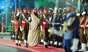 Pangeran Mahkota Arab Saudi di Pakistan