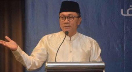 Munajat 212: Zulkifli Hasan Ingatkan Pemilu Damai
