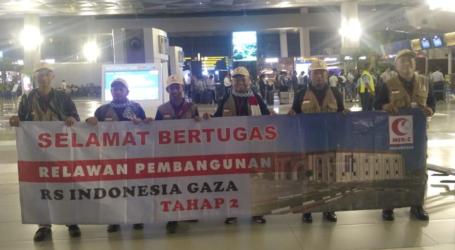 MER-C Berangkatkan Tim Pertama Relawan Pembangunan RS Indonesia di Gaza