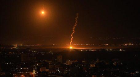 Balas Serangan Balon Gaza, Israel Rudal Gaza