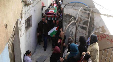Ribuan Warga Palestina Hadiri Pemakaman Gadis Palestina yang Gugur