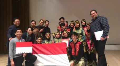 Persembahkan Tari Saman, Tim Kesenian Indonesia Torehkan Prestasi di Rusia