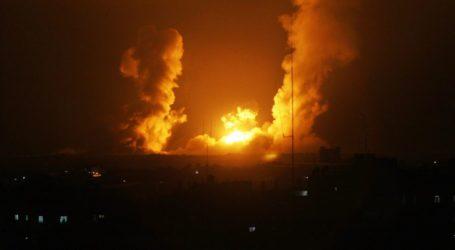 Jet Tempur Israel Serang Pos Brigade Al-Qassam