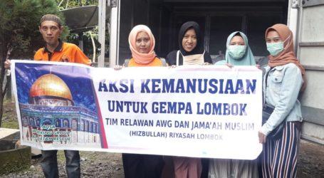 AWG NTB Kirim Bantuan Kemanusiaan ke Lombok Timur