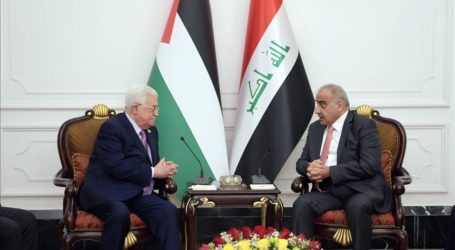 Abbas Bertemu PM Irak Bahas Perkembangan Palestina