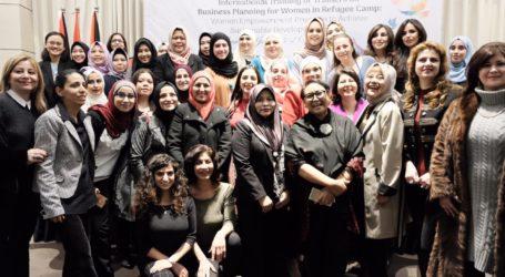 Menlu RI Luncurkan Pelatihan Bisnis untuk Pengungsi Palestina di Yordania