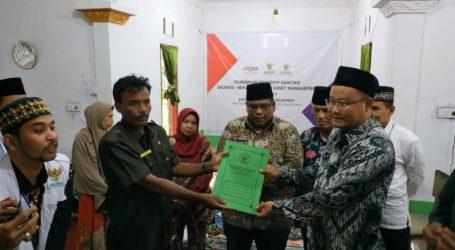 PT Henan Putihrai Gandeng Baznas Bantu Sarana Air Bersih di Padang Pariaman