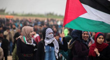Palestinian Youth Friday Tuntut Penghentian Blokade Israel