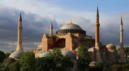 Erdogan: Hagia Sophia Mungkin Dikembalikan Menjadi Masjid