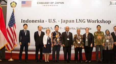Indonesia–AS–Jepang Gelar Lokakarya Bahas Gas Alam Cair (LNG)