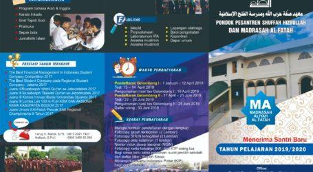Ponpes Al-Fatah Cileungsi Buka Pendaftaran Santri Baru
