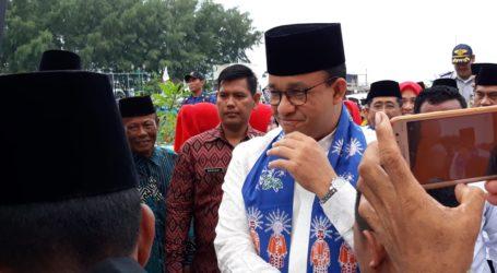 Nasyid Tholaal Badru Sambut Kedatangan Anies di Kepulauan Seribu