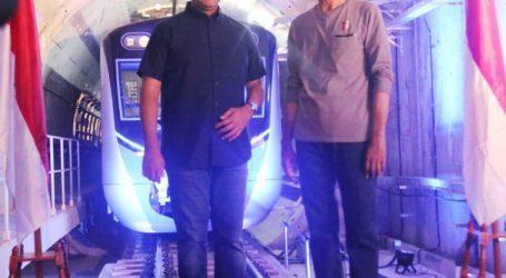 Anies: MRT Jakarta Terobosan Infrastruktur Kelas Dunia