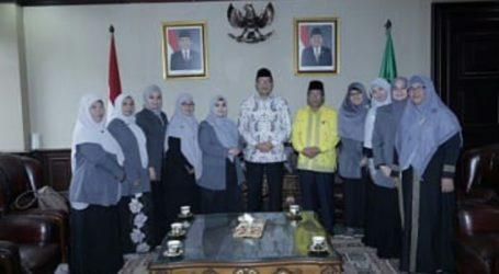 Menag Terima Kunjungan PB Wanita Al-Irsyad Al-Islamiyyah