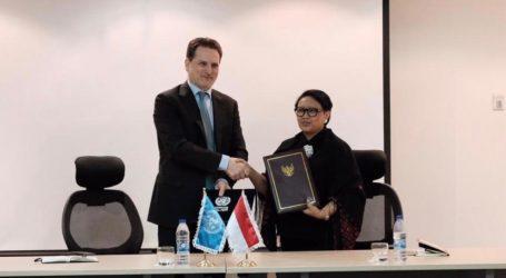 RI-UNRWA Tanda Tangani Perjanjian Kontribusi Indonesia untuk Pengungsi Palestina