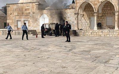 Israel Paksa Masuk Kompleks Masjid Al-Aqsa