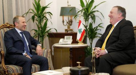 Pertama Kunjungi Lebanon, Pompeo Tuding Hizbullah Halangi Impian Rakyat