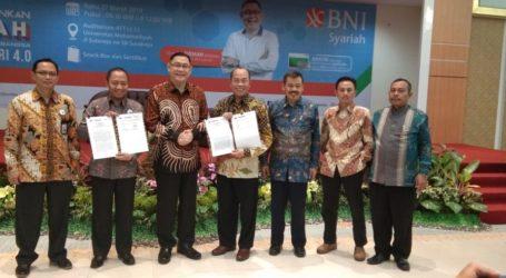 Dirut BNI Syariah Sampaikan Kuliah Umum di Universitas Muhammadiyah Surabaya