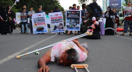 Masyarakat Relawan Indonesia Gelar Aksi Peringati Great Return March di Palestina