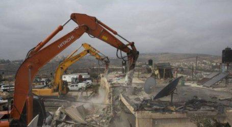 Israel Hancurkan Dua Rumah Palestina di Yerusalem
