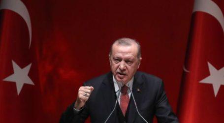 Erdogan Tegaskan Dukungan Turki untuk Palestina