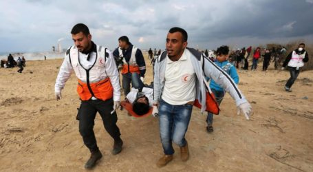 Israel Tembak Dua warga Palestina di Dekat Kamp A-Bureij