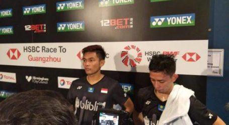 Fajar/Rian Gagal Persembahkan Final Sesama Indonesia
