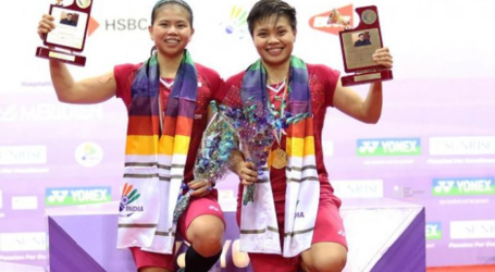 Greysia/Apriyani Juara India Open 2019