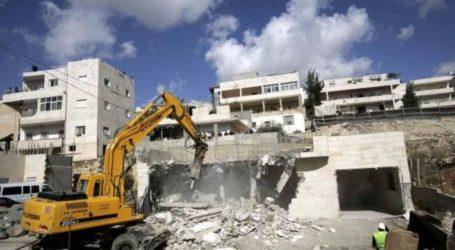 Israel Hancurkan Sebuah Sekolah yang Sedang Dibangun di Hebron