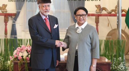 Menlu Oman Kunjungi Indonesia Bahas Isu Palestina