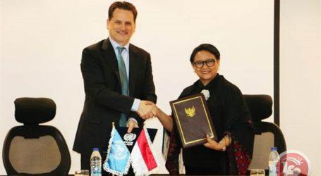Indonesia Bantu AS$ 1 Juta untuk Pengungsi Palestina
