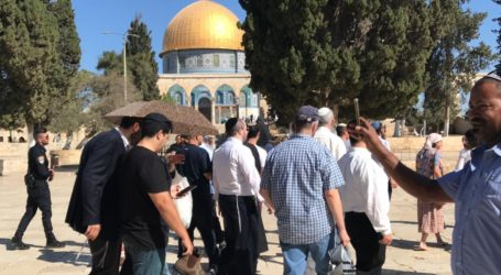 Sebanyak 1.944 Ekstrimis Yahudi Serbu Masjid Al-Aqsa pada Februari 2019
