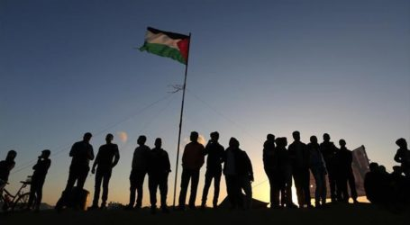 Unjuk Rasa Tuntut Pembebasan Pejuang Palestina dari Penjara-Penjara Israel