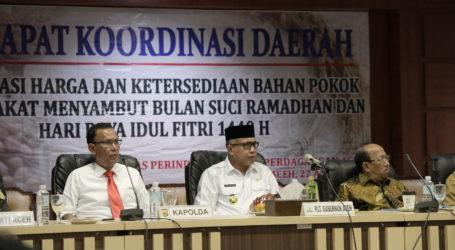 Pemerintah Aceh Jaga Harga dan Stok Barang Pokok Jelang Puasa dan Idul Fitri