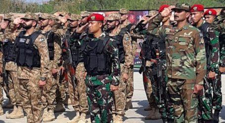 TNI AD dan AD Pakistan Gelar Latihan Bersama di Counter Terrorisme Center